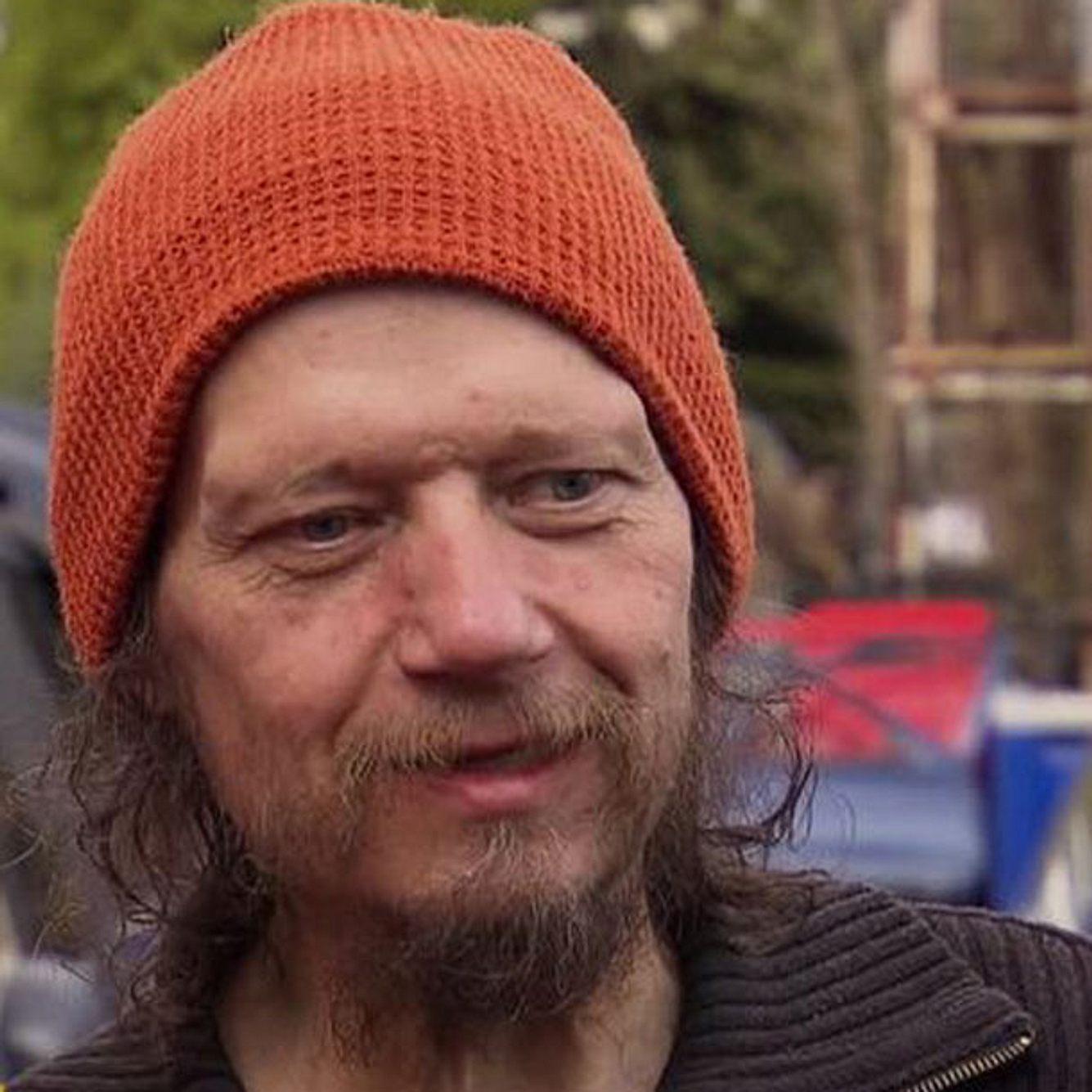 Peter Ludolf war 2014 sehr dünn