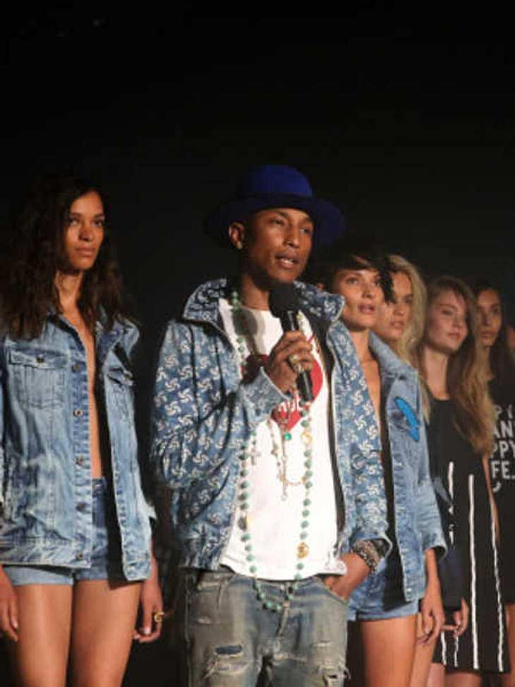Pharrell Williams designt Mode aus Müll