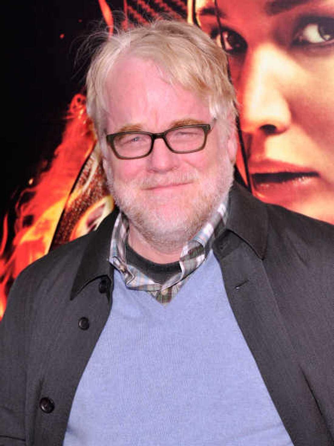 """Philip Seymour Hoffman spielte in """"Die Tribute von Panem"""" eine große Rolle."""