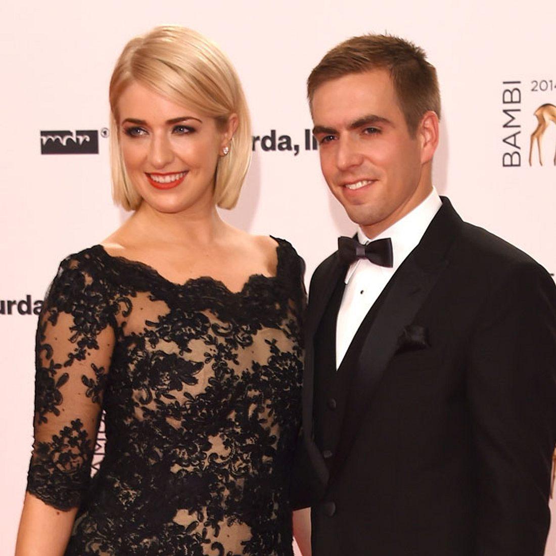 Philipp und Claudia Lahm erwarten ihr zweites Kind