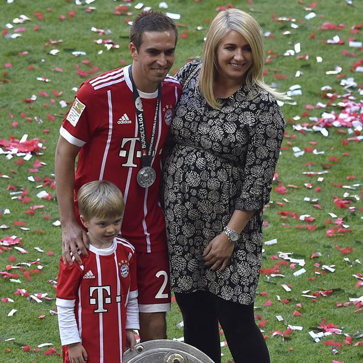 Philipp Lahm zum zweiten Mal Vater geworden
