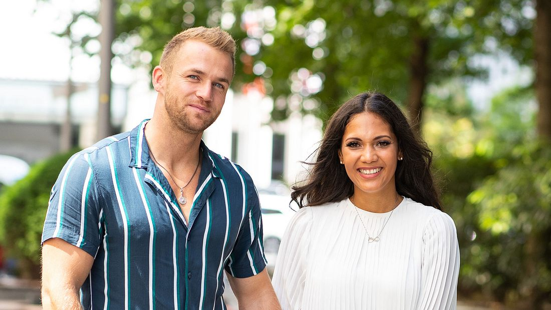 Philipp Stehler und Pam Gil Mata