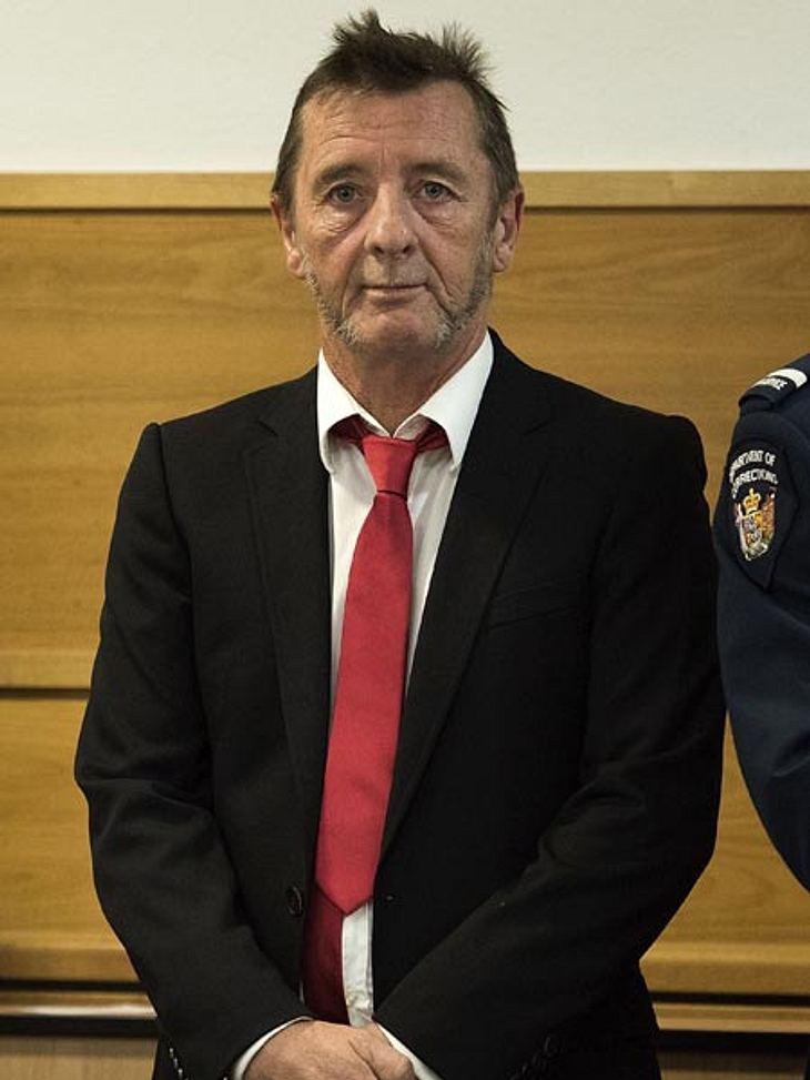 Phill Rudd vor Gericht