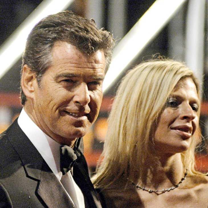 Pierce Brosnan traert um seine Tochter