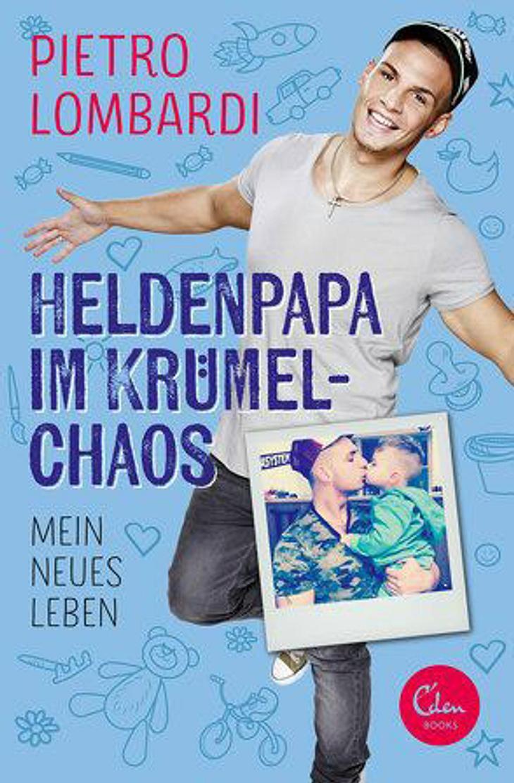 So sieht das Cover von Pietro Lombardis neuem Buch aus