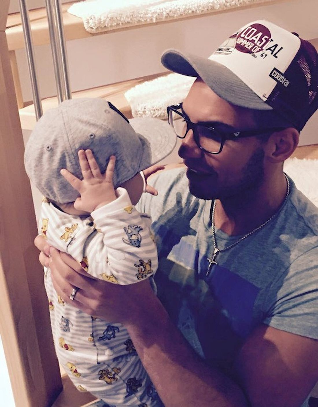 Pietro Lombardi: Partnerlook mit Baby Alessio
