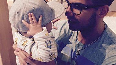 Pietro Lombardi: Partnerlook mit Baby Alessio - Foto: Facebook / Sarah Engels