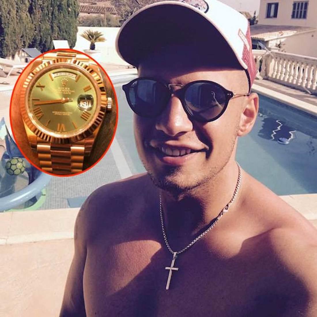 Pietro Lombardi: Er präsentiert seine neue Rolex