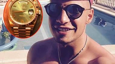 Pietro Lombardi: Er präsentiert seine neue Rolex - Foto: Facebook / Snapchat / Pietro Lombardi