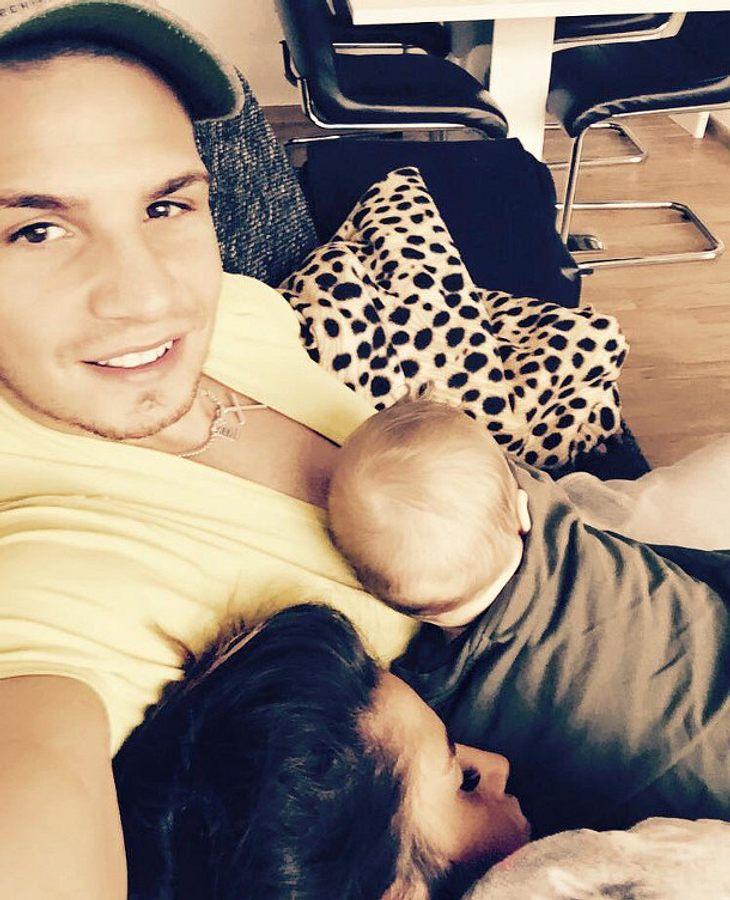 Pietro Lombardi liebt seine kleine Familie über alles