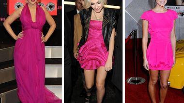 Pink, pink, pink sind alle meine Kleider! Star-Trend: Pink - Bild 1 - Foto: WENN