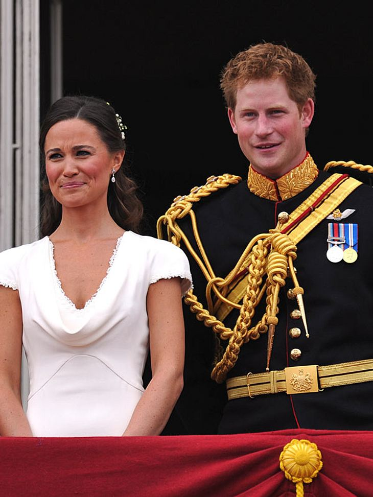 Pippa Middleton und Prinz Harry: Pateneltern von George?