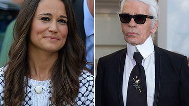 Karl Lagerfeld lobt die Mutter, teilt aber gleichzeitig gegen Pippa Middleton aus. - Foto: Getty Images