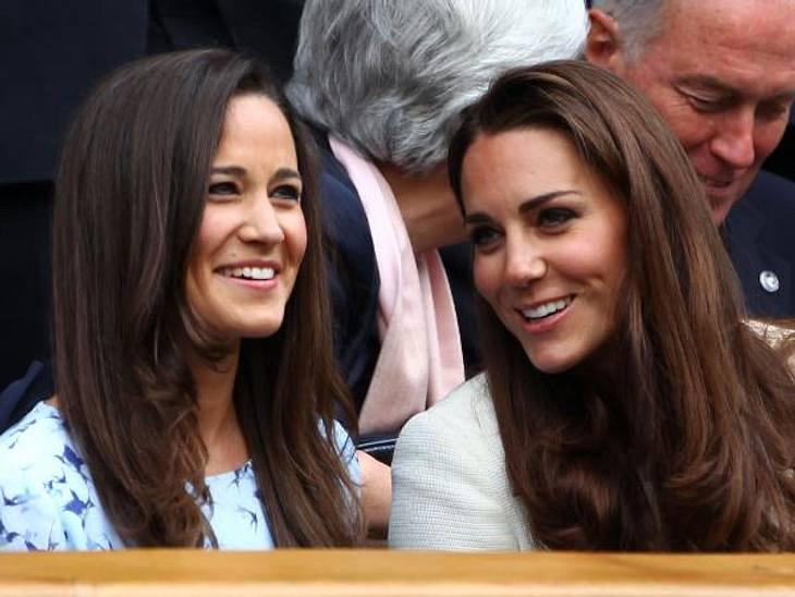 Promi-Geschwister: Die kleinen Schwestern sind los!Obwohl aus Kate (30) durch die Heirat mit Prinz William (30) Herzogin Catherine wurde und sie seither wenig Zeit hat, stehen sich die beiden Schwestern noch immer sehr nahe und verbringen s