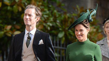 Pippa Middleton und Mann James - Foto: Getty Images