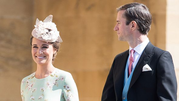 Pippa Middleton und Mann James - Foto: Getty Images