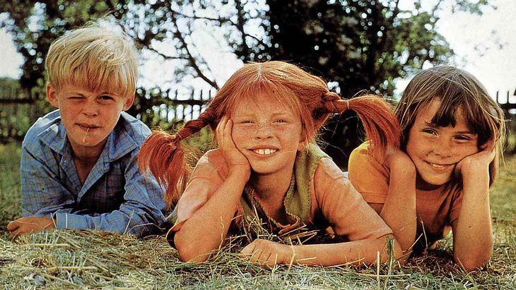 Tommy, Pippi Langstrumpf und Annika