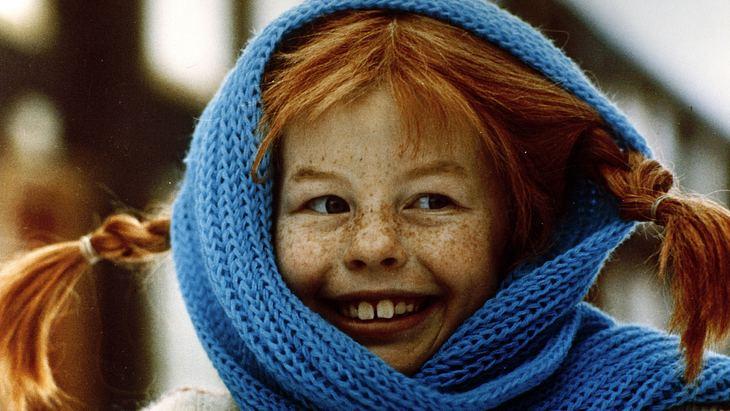 Inger Nielsson als Pippi Langstrumpf