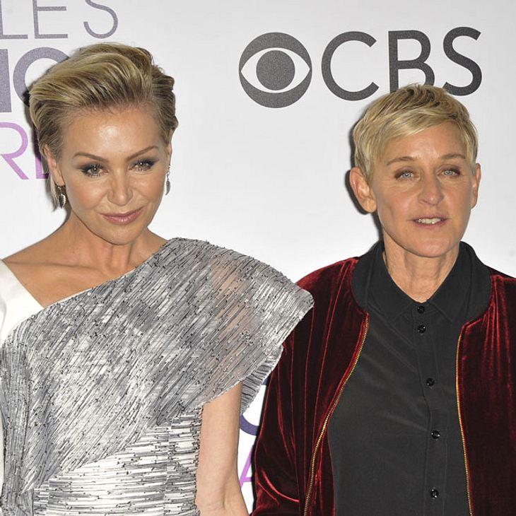 Ellen DeGeneres und Portia de Rossi: Scheidung?