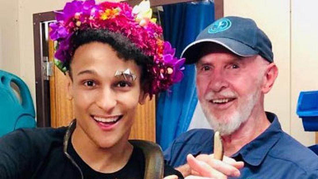 Prince Damien und Dr. Bob