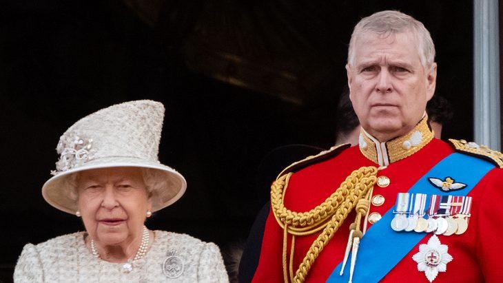 Queen Elizabeth II. und ihr Sohn Prinz Andrew