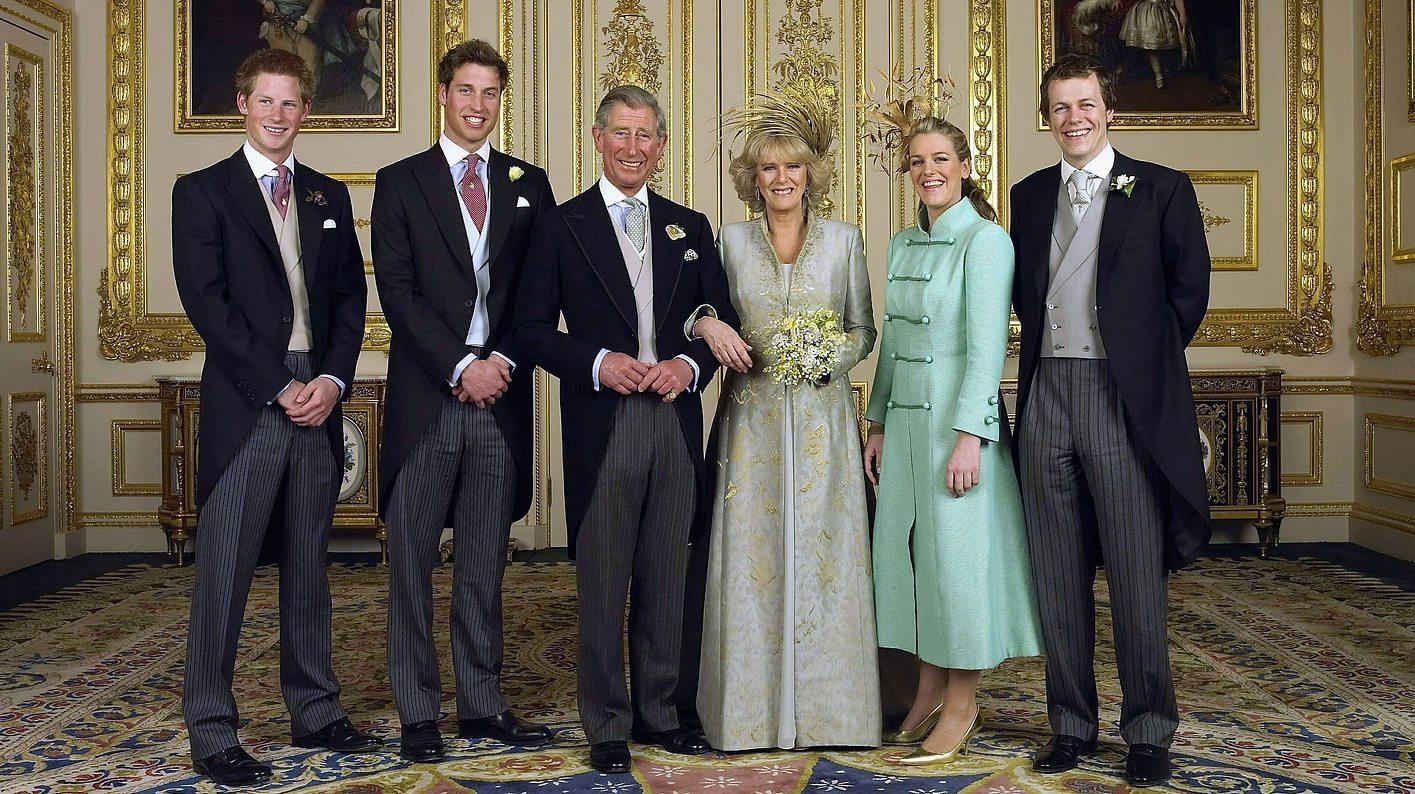 Prinz Charles und Herzogin Camilla haben vier Kindern