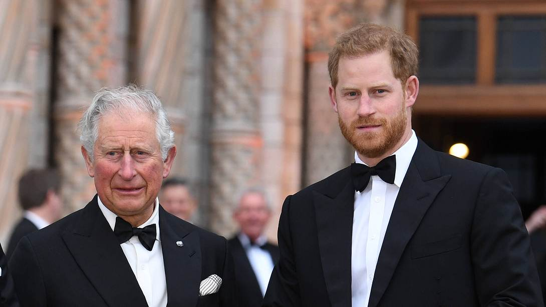 Prinz Charles Prinz Harry - Foto: Imago