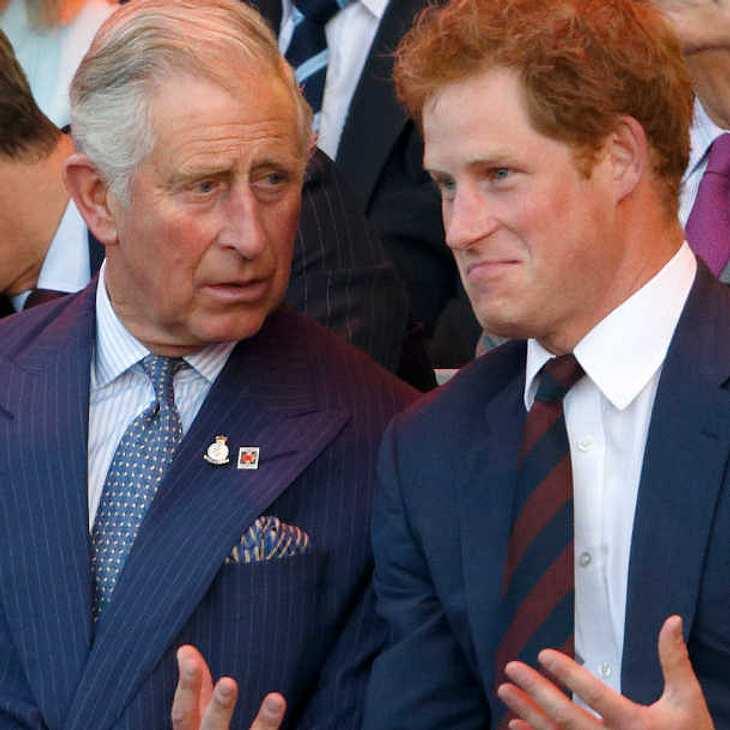 Prinz Charles sollte sterben, damit Harry auf den Thron kommt!