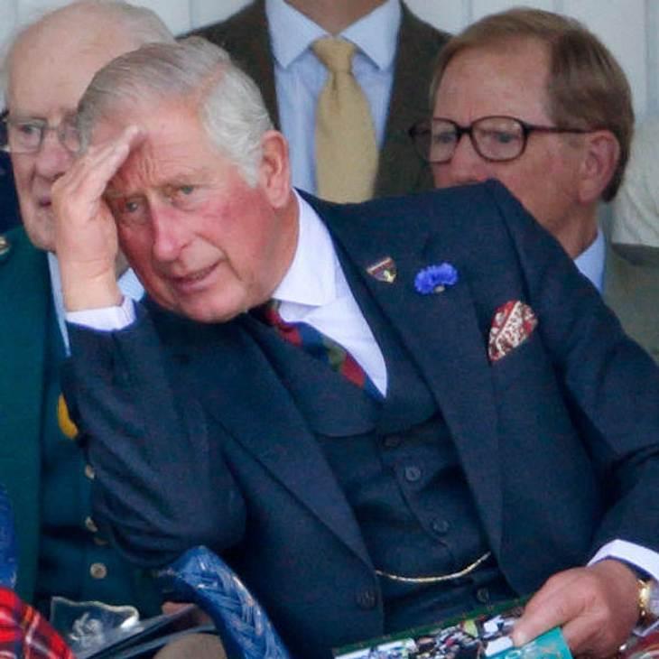 Prinz Charles reist nur mit persönlichem Toilettensitz