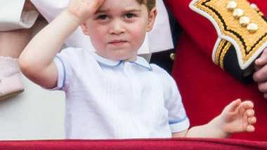 Prince George ist schon so groß geworden! - Foto: Getty Images