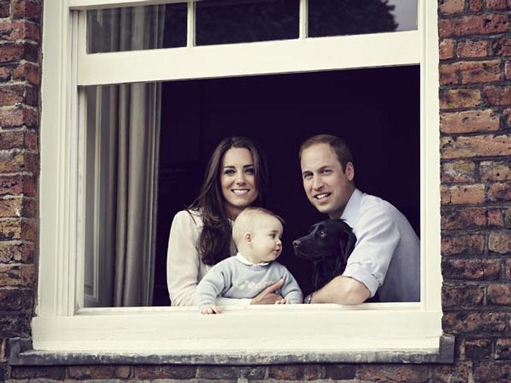 Endlich ein neues Foto von Baby George!
