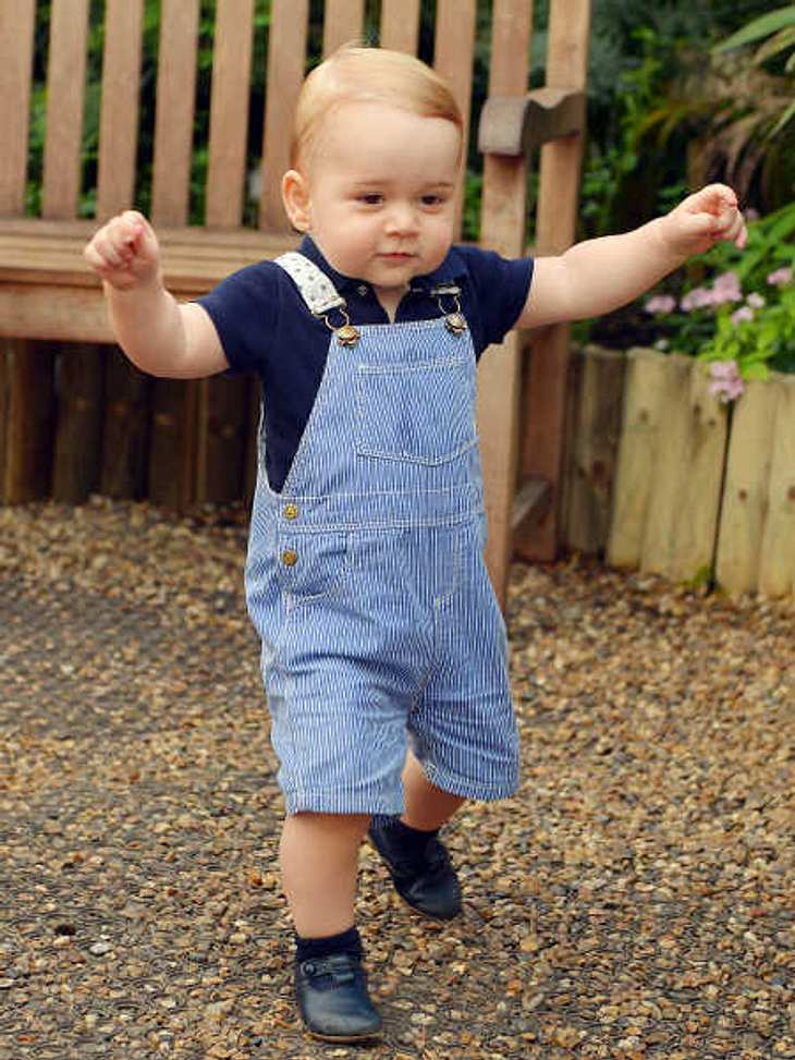 Prinz George hat Geburtstag.