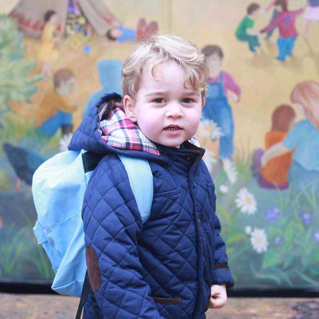 Prinz George: Erster Tag in der Kita