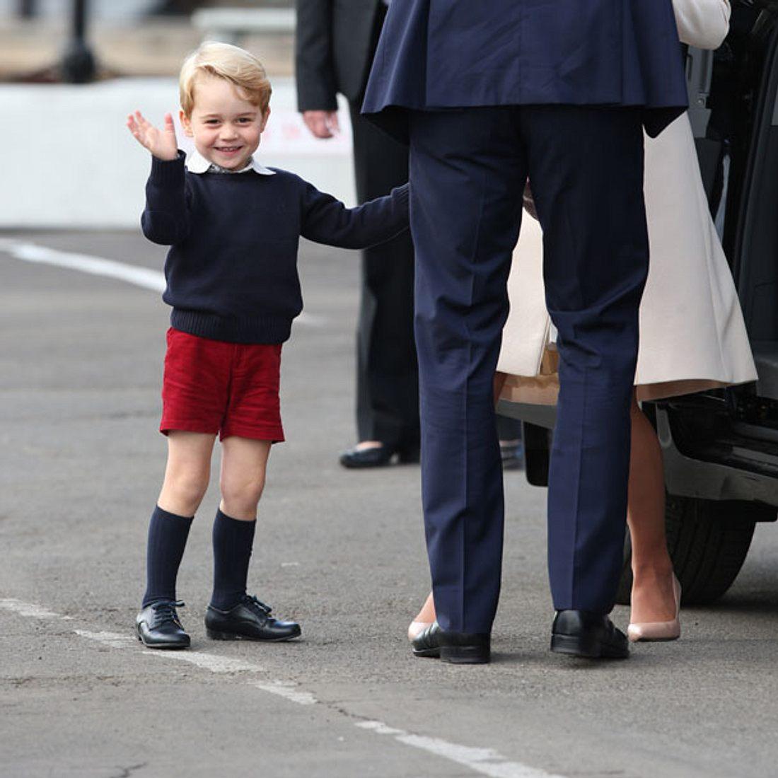 Prinz George - Immer in kurzer Hose unterwegs