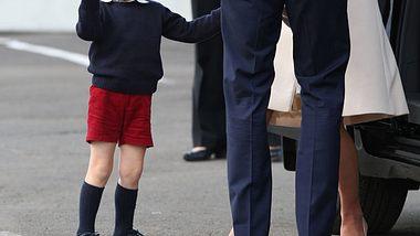 Prinz George - Immer in kurzer Hose unterwegs - Foto: getty