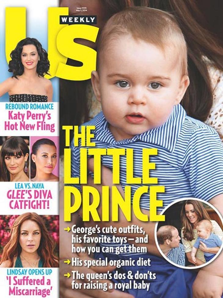 Baby George fiel Photoshop zum Opfer