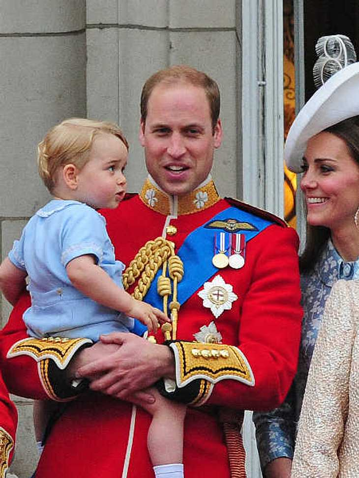 Prinz George hat die Gartenarbeit für sich entdeckt