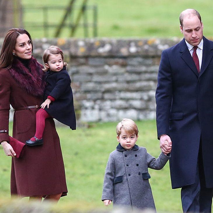 Prinz George stiehlt wieder allen die Show!