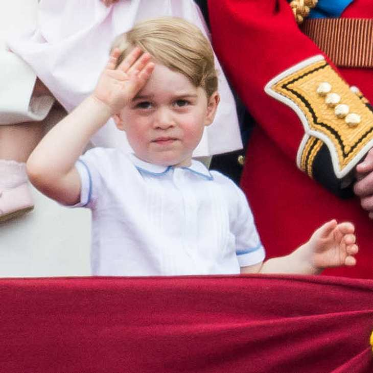 Prince George ist schon so groß geworden!