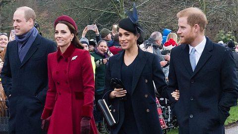 Prinz-Harry-Herzogin-Meghan-Prinz-William-Herzogin-Kate - Foto: Photo by Samir Hussein/WireImage