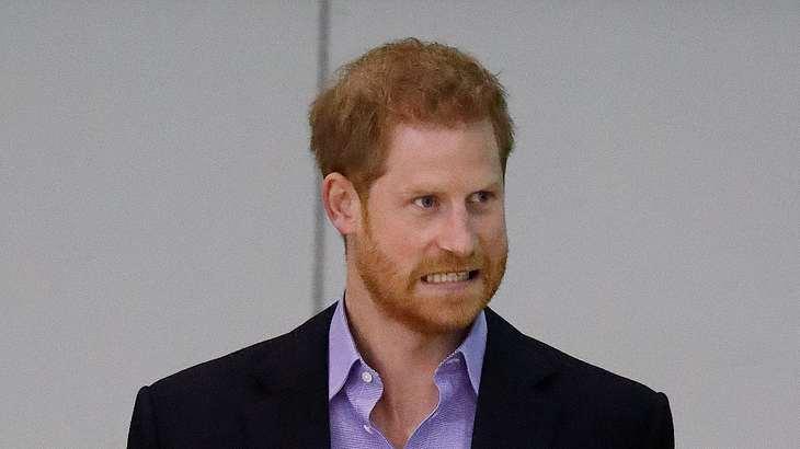 Prinz Harry leistete sich einen kleinen Ausrutscher