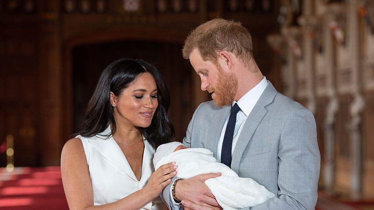 Herzogin Meghan & Prinz Harry: Streit um Baby Archie