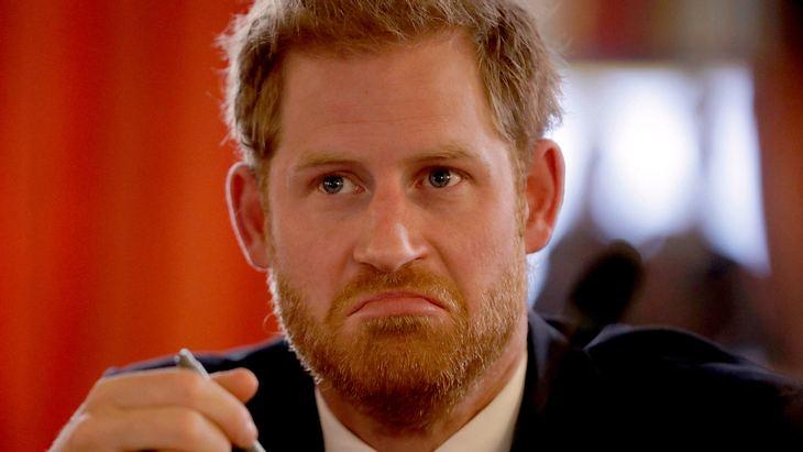 Prinz Harry hat die Nase voll!