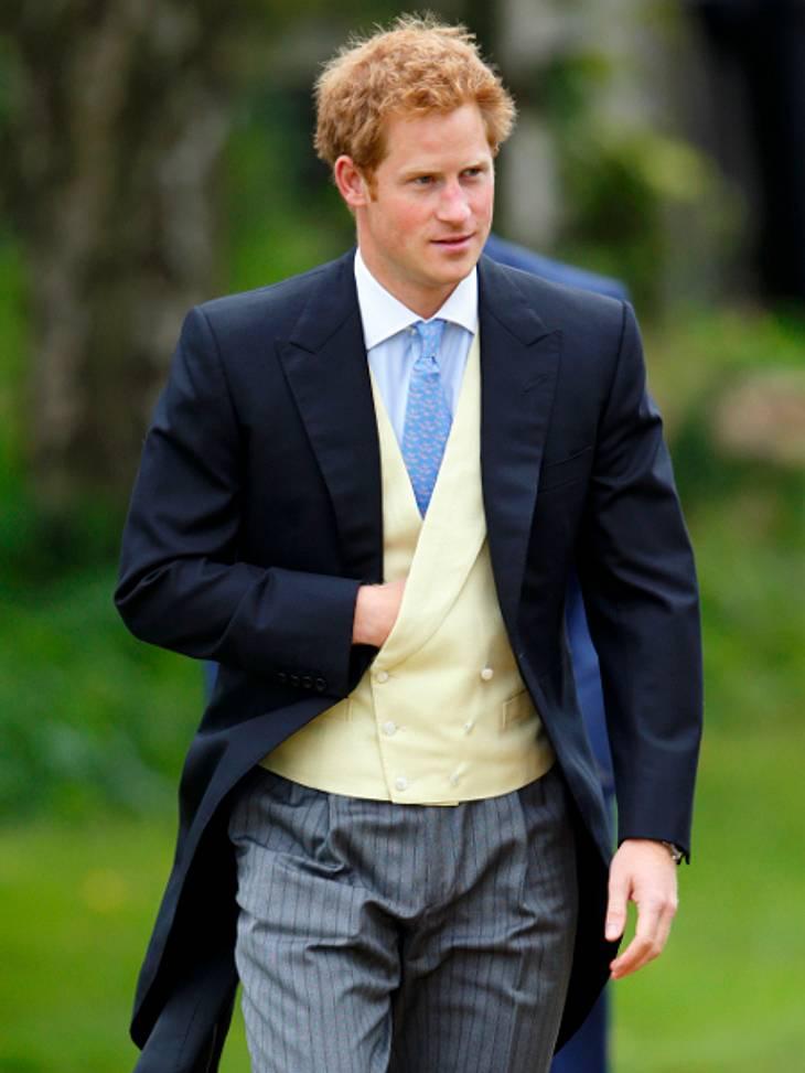 Prinz Harry wird heute 29 Jahre alt