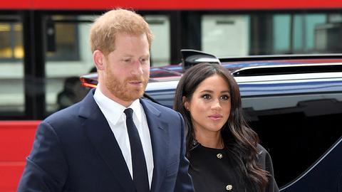 Prinz Harry und Herzogin Meghan: Jetzt gibt es Ärger! - Foto: GettyImages