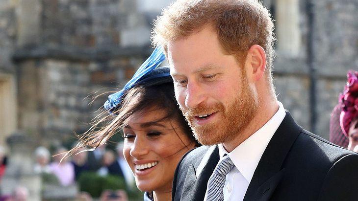 Herzogin Meghan: Süßes Liebes-Geste von Harry an Eugenies Hochzeit!