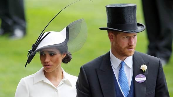 Herzogin Meghan und Prinz Harry - Foto: imago
