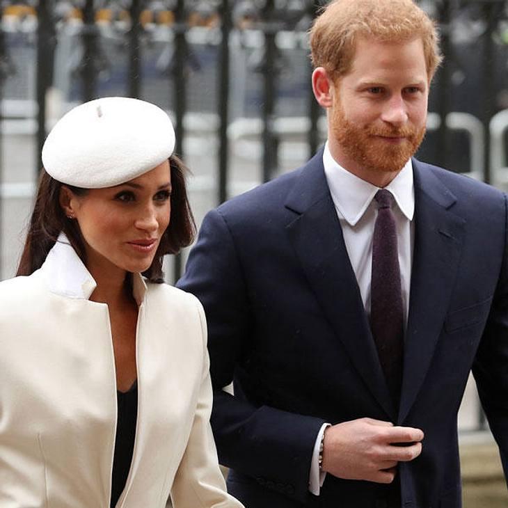 Meghan Markle und Prinz Harry werden bedroht