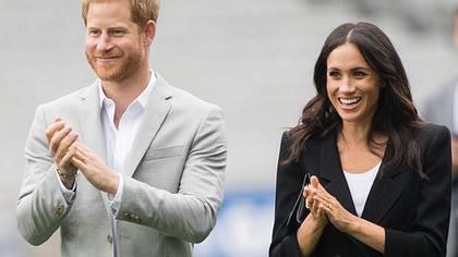 Herzogin Meghan freut sich so sehr - Foto: GettyImages