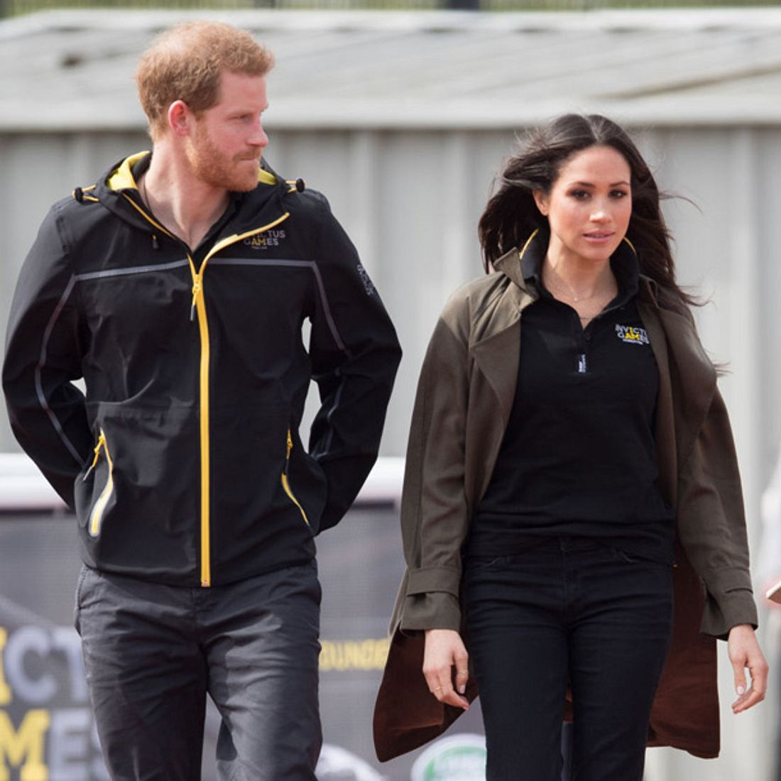 Prinz Harry und Meghan Markle erleben unruhige Stunden vor der Hochzeit